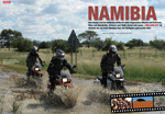 BMW F 800 GS in Namibia