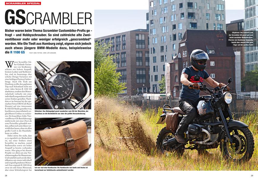 bmw r1100gs scrambler umbau. Black Bedroom Furniture Sets. Home Design Ideas