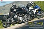 im Vergleich: Touren-Schwestermodelle BMW R 1200 RS und RT