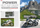Fast 20.000 km in einer Saison: Power-Naked Bike BMW S 1000 R