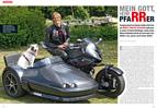 Kanzelamt: Pfarrer mit BMW S 1000 RR-Gespann